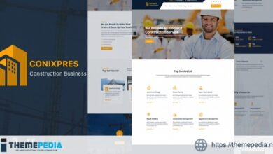 Conixpres – Construction Building WordPress [nulled]