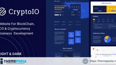 CryptoIO – Cryptocurrency WordPress Theme [Updated Version]