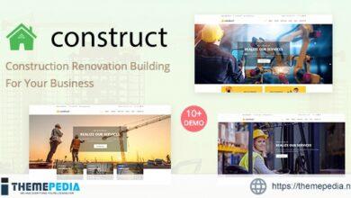 Construct – Construction WordPress Theme [Updated Version]