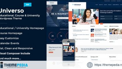 Universo – Powerful Education, Courses & Events [Free download]