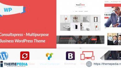 Consultxpress – Multipurpose Business WordPress Theme [Free download]