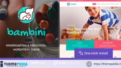 Bambini – Kindergarten & Pre-School Theme [Free download]