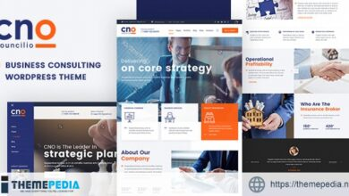 Councilio – Business and Financial Consulting WordPress Theme [Free download]