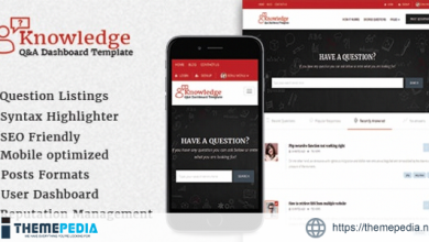 InfoCenter – Knowledge Base and Q-A WordPress Theme [Free download]