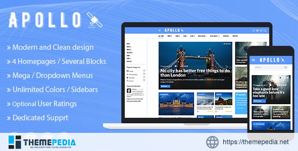 Apollo – WordPress News and Magazine Theme [Updated Version]