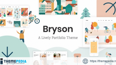 Bryson – Illustration and Design Portfolio Theme [Free download]