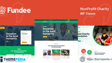Fundee – NonProfit Charity WordPress Theme [Free download]