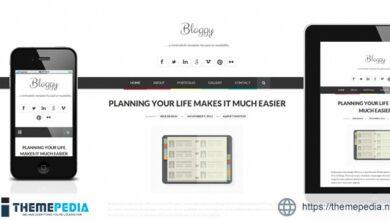 Bloggy WP – Responsive Minimalist WordPress Theme [Free download]