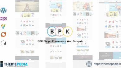 BPK Shop – WooCommerce ResponsiveTheme [nulled]