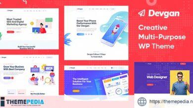 Devgan – Creative Multipurpose WordPress Theme [Free download]