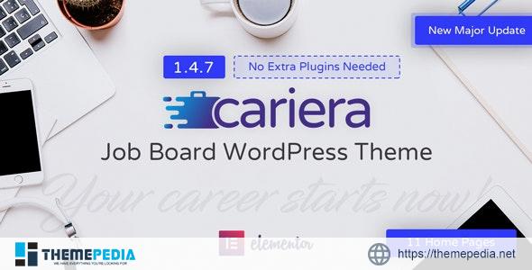 Cariera – Job Board WordPress Theme [nulled]
