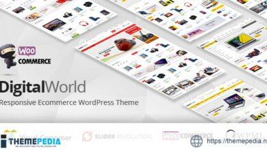 Digitalworld – Electronics & Multipurpose WooCommerce Theme ( RTL Supported ) [Latest Version]