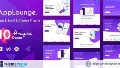 AppLounge – Multipurpose SaaS WordPress Theme [Latest Version]