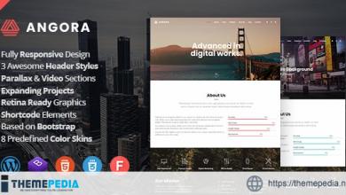 Angora – Responsive One Page Parallax WordPress Theme [Free download]