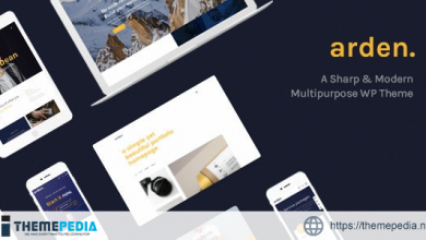 Arden – Agency Business Corporation WordPress Theme [Free download]