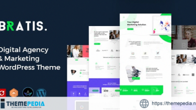 Bratis – Digital Marketing WordPress Theme [Free download]