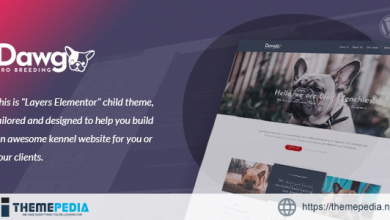 Dawg – WP Dog Breeder theme [Free download]