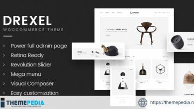 Drexel – WooCommerce Responsive Furniture Theme [Free download]