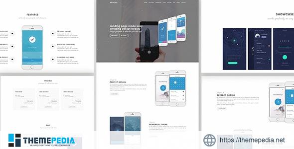 Decades – App Showcase & App Store WordPress Theme [Free download]