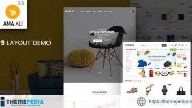 Ama.Ali – Market Furniture Shop WooCommerce WordPress Theme [Free download]