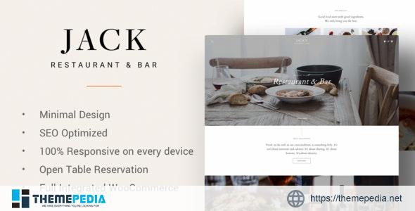 Jack – Restaurant WordPress Theme [Updated Version]