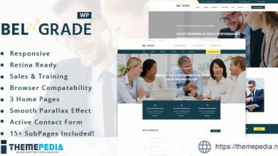 Belgrade – Training Business WordPress Theme [Updated Version]