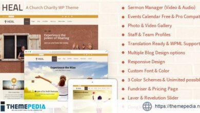 Heal – Charity WordPress [Free download]