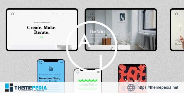 Airtifact – Portfolio Creative WordPress Theme [Free download]