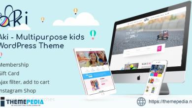 Aki – Multipurpose Kids WordPress Theme [Updated Version]