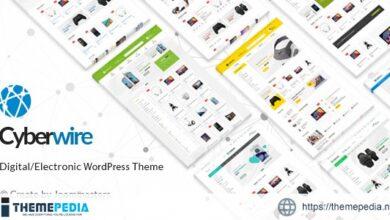 CyberWire – WooCommerce AJAX WordPress Theme [Latest Version]