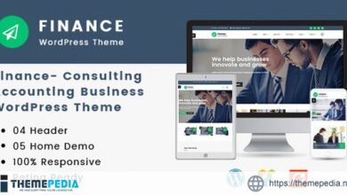 Finance – Consulting, Accounting WordPress Theme [nulled]