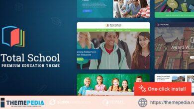 Total School – Education WordPress Theme [Free download]