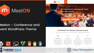 Meeton – Conference & Event WordPress Theme [Free download]