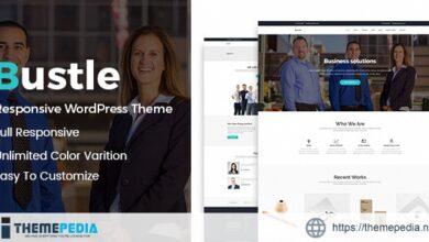 Bustle – Corporate WordPress Theme [Free download]