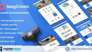 Cleaning Company – MagiClean [Free download]
