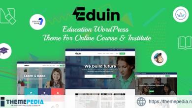 Eduin – Online Course WordPress Theme [Free download]