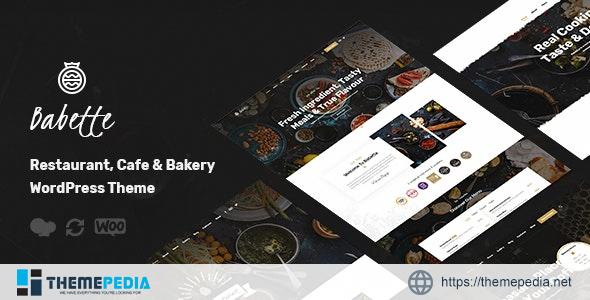 Babette – Restaurant & Cafe WordPress Theme [Updated Version]