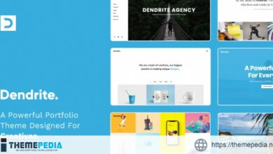 Dendrite – Creative Portfolio Theme [Free download]