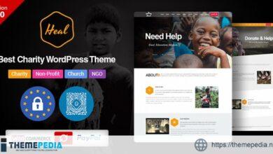 Heal – Multipurpose Charity WordPress Theme [Free download]