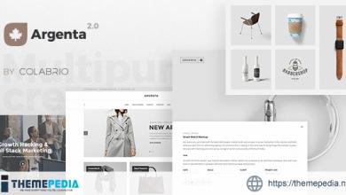 Argenta – Creative Multipurpose WordPress Theme [Updated Version]