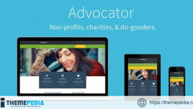 Advocator- Nonprofit & Charity Responsive WordPress Theme [Free download]