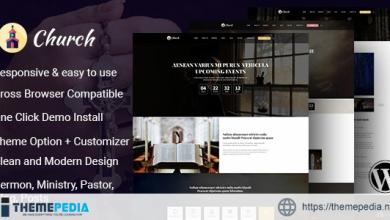 Cathedral – Multi Purpose Church WordPress Theme [Free download]