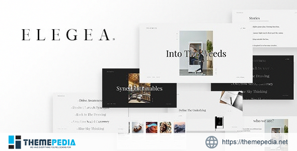 Elegea – Multi-Concept WordPress Theme [Free download]