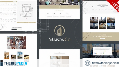 MaisonCo – Single Property WordPress Theme [Latest Version]