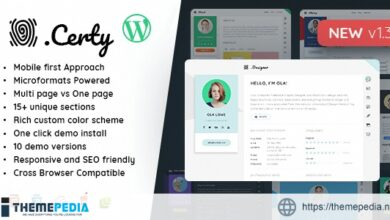 Creative Resume, CV & vCard [Updated Version]