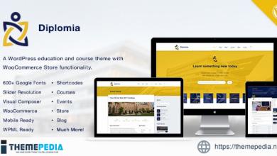 Diplomia WordPress Theme – Education WP [Free download]