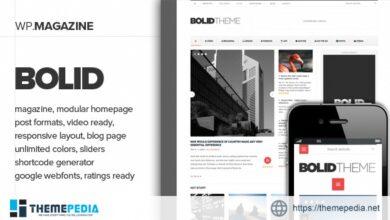 Bolid – Responsive News, Magazine and Blog Theme [Latest Version]