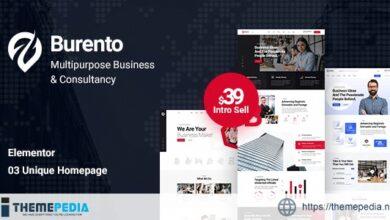 Burento – Multipurpose Business WordPress Theme [Updated Version]