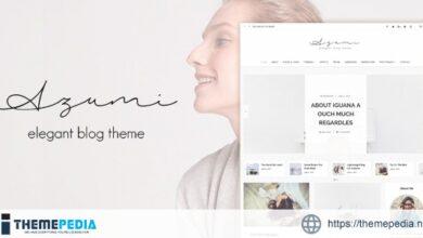 Azumi – Elegant Blog Theme [Free download]
