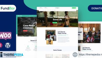 FundBar – Fundraising Charity Theme [Free download]